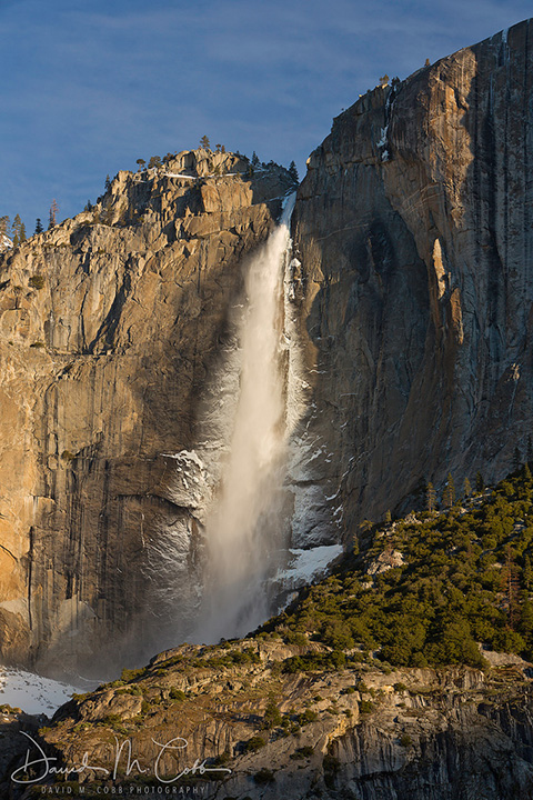 Yosemite National Park Waterfall by David Cobb