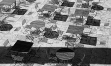Chairs & Tables BW