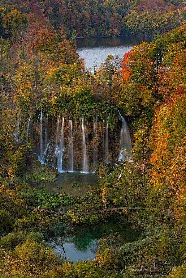 Plitvice Autumn Waterfall V