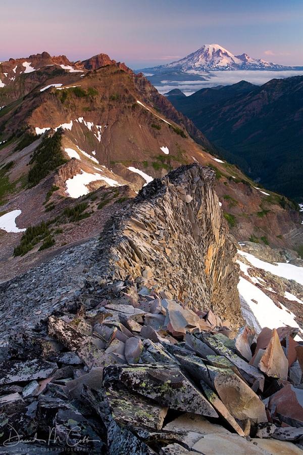 Goat Rocks Mt Rainier
