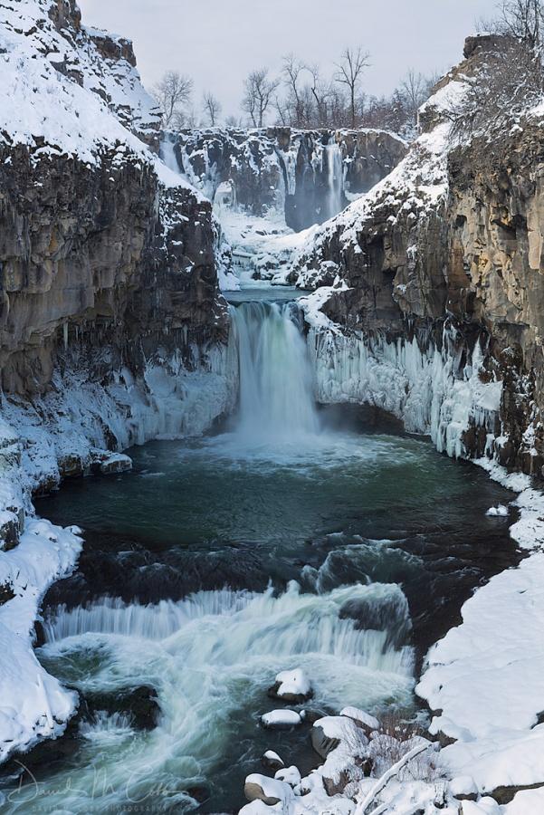 Snowy White River Falls