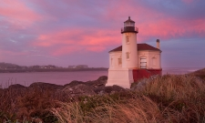 Coquille River Lighthouse Sunrise