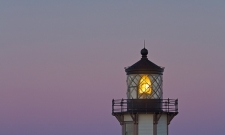 Point Cabrillo Lighthouse & Moon