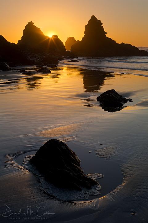 Jug Handle Beach Sunset